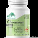 provita nutrition chromium forte naturaheal.ca