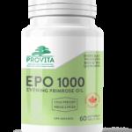 provita nutrition evening primrose oil epo 1000 naturaheal.ca